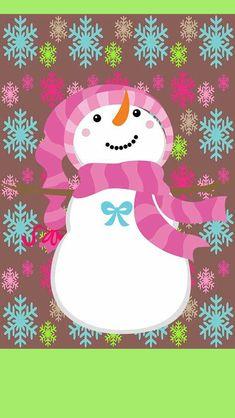 Kristnasko Kristnasko Source by ihfivonne Pink Christmas, Christmas Colors, Christmas Time, Christmas Phone Wallpaper, Holiday Wallpaper, Holiday Backgrounds, Christmas Lockscreen, Diy Christmas Decorations For Home, Cute Snowman