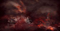 Create Ancient City Under Siege By Dark Wizard Scene in Photoshop