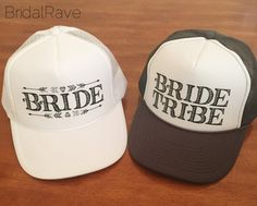Hey, I found this really awesome Etsy listing at https://www.etsy.com/listing/251793907/bride-bride-tribe-trucker-hat