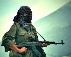 PKK fighter.