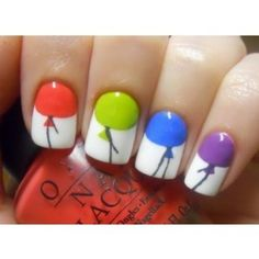 balloon nails! Pose by alilevinedesign