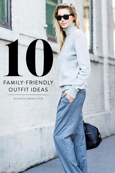10 inspiring, family-friendly street style outfits to try for the holidays