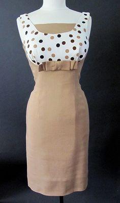 1950's Don Loper Original Linen Dress