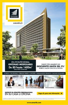 #NOVOCLICK esta con #Amarilo #Oficinas #Pontevedra
