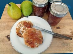 Port Poached Pear Jam... So good and easy to make.