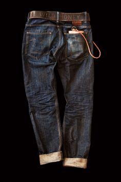 Michael Schmidt - Eat Dust Denim Blå Jeans fa84e56f0fa68