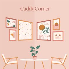 A caddy-corner gallery wall that is equal parts cozy and cool. If you've got a bare bedroom corner, you now know what to do with it. Gallery Wall Bedroom, Gallery Wall Layout, Gallery Wall Frames, Frames On Wall, Wall Collage, Gallery Walls, Frame Tv, Corner Wall Decor, Bedroom Corner