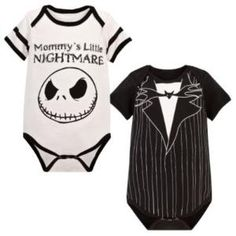 Nightmare Before Christmas Onesies