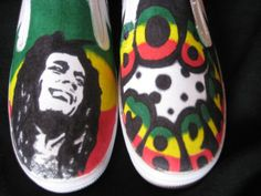 Bob marley shoes