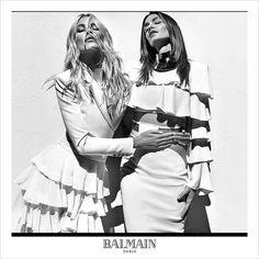 Супермодели 90-х в рекламной кампании Balmain (Интернет-журнал ETODAY)