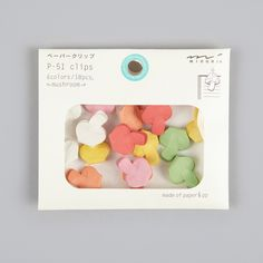 Midori P51 Clips - Mushroom
