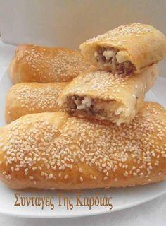 Greek Sweets, Greek Desserts, Greek Recipes, Snack Recipes, Cooking Recipes, Snacks, Greek Cake, Greek Pastries, Greek Cooking