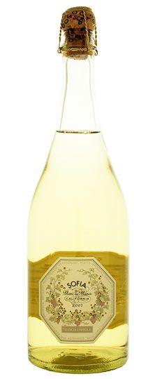 Yumm! Sofia Blanc de Blancs sparkling wine :)