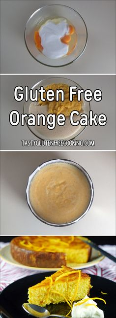 This incredible gluten free orange cake is perfect for anyone looking for a delicious dessert that uses oranges.