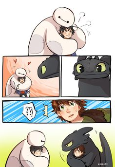 I know that How to Train Your Dragon isn't Disney, but it's still cool all the same.