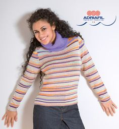 Sestriere Pullover in Adriafil Knitcol and Kid Mohair. FREE knitting pattern for women's sweater. Get the free downloadable pdf knitting pattern from LoveKnitting.