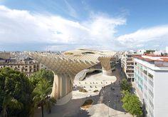 Metropol_parasol__sevilha__espanha_ #architecture #plaza