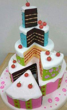 Lovely Cakes on Cake