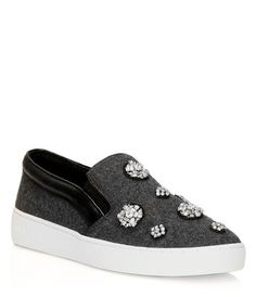 MICHAEL Michael Kors Keaton Slip-On Sneaker Jewel
