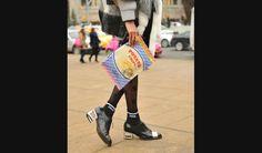 Con forma de bolsa de alimentos :O