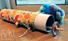 How to take your drop spindle on the road! Or just store it nicely at home! Yeah!