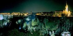 Luxembourg city - you must go out after dark. Tremendous culture, history, kind people and..  just go enjoy yourself.  Meet folks from all over the world.