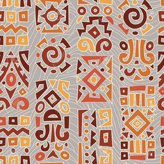 14962444-Patr-n-geom-trico-t-pico-tnico-africano-Foto-de-archivo.jpg (1300×1300)