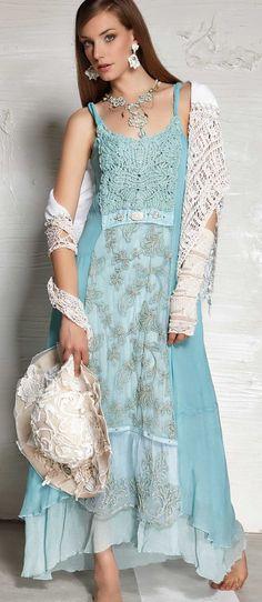 В стиле Бохо III Lookbook Collection | Daniela Dallavalle Бренд Elisa Cavaletti («Элиза Кавалетти»)
