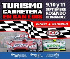 San Luis en Imagen - El Turismo Carretera se presenta en el Autodromo Rosendo…