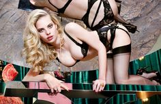 Meet the Le Salon girls with Agent Provocateur AW14 collection @TheMissAP