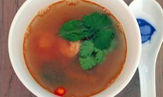 How to cook perfect tom yum soup.  Life and style. The Guardian, recipe at the bottom of page