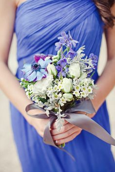 Lovely color for a bridesmaid dress| The Nichols #wedding