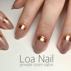 Cute Nails, My Nails, Office Nails, Japan Nail, Rose Gold Nails, Pretty Nail Art, Simple Nails, Nail Arts, Manicure And Pedicure