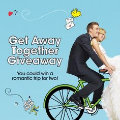 Enter the wedding sweepstakes for a chance to win a romantic getaway! *Daily Entry* 04/24/2015