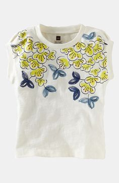 Tea Collection 'Eastern Blossom' Tee (Toddler Girls, Little Girls & Big Girls) available at #Nordstrom