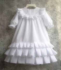 New Children Dress Patern Little Girls Ideas Girls Frock Design, Kids Frocks Design, Baby Frocks Designs, Baby Dress Design, Dress For Girl Child, Kids Dress Wear, Children Dress, Dress Girl, Children Clothes