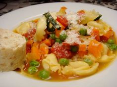 Tortellini soup - want to try this!