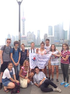 2014 international High school students from all over the world! Welcome to China! Enjoy your orientation week with Mandarin Lessons, Culture Course, having Dumpling and sightseeing in Shanghai!
