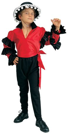 Olé!Experience the thrill of the Spanish bullfighter in our Toreador Kids Costume. It will allow boys to take the bull by the horns and join the bull fighting fun during dress-up play. Our Kids Toreador Costume includes a long-sleeved satiny teal green shirt with black collar and rows of black ruffles down the sleeves, black pants and red waist sash belt. They will raise the crowds to their feet in cheer as a Spanish matador. Get ready for a bullfight as your little torero heads to the ...