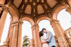 Anna and Frederick looked like modern-day royalty at their San Fran engagement session. Engagement Inspiration, Engagement Pictures, Engagement Session, Palace Of Fine Arts, Street Photo, Royalty, Anna, Wedding Photography, Photo And Video
