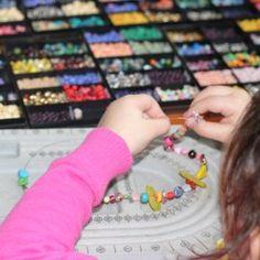 Kinderfeestje sieraden maken € 9,-- per kind