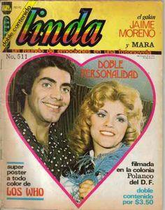 Fotonovela Linda con Jaime Moreno y Mara The Past, Memories, Baseball Cards, Movie Posters, Vintage, Souvenirs, Brunettes, Memoirs, Film Poster