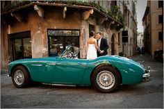 A sports car for a romantic getaway for just the 2 of you around the lake, a vintage car to reach one of the many castles on Lake Garda, Italy