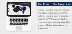 Do More with Less with Robot Virtual Worlds!