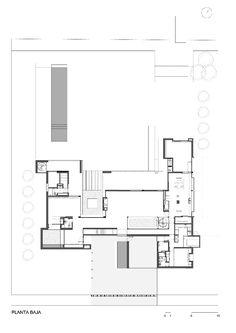 Imagen 19 de 24 de la galería de Casa BR / KLM Arquitectos. Planta Primer Nivel
