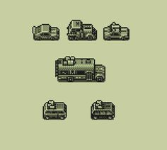 I have to stop drawing cars & begin to program the #gbjam game :D #gamedev #pixelart pic.twitter.com/gxmPdekgdy