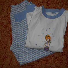 bílo-modré pyžamo z bazaru za 20 Kč | Dětský bazar.cz