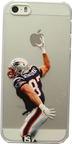 Rob Gronkowski Spike Case Ultra Slim Transparent Hard Plastic (iPhone 5/5s/SE) -- Awesome products selected by Anna Churchill