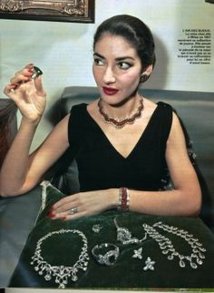 maria callas vogue magazine - Google Search
