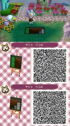 Secret Trap Pattern Animal Crossing New Leaf Qr Code